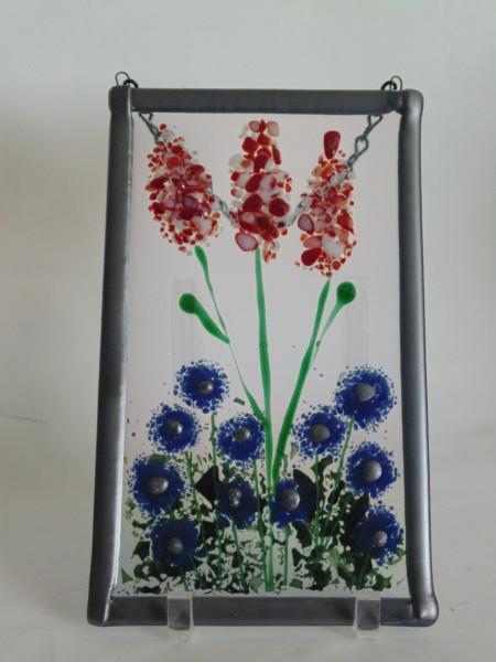 Garden Hanger-Steel blue frame