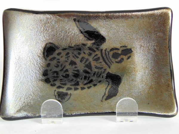 Soap Dish/Spoon Rest-Irid with Sea Turtle