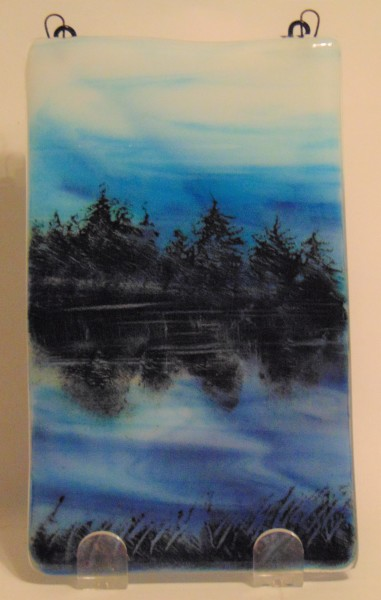 Garden Hanger-Forest Silhouette