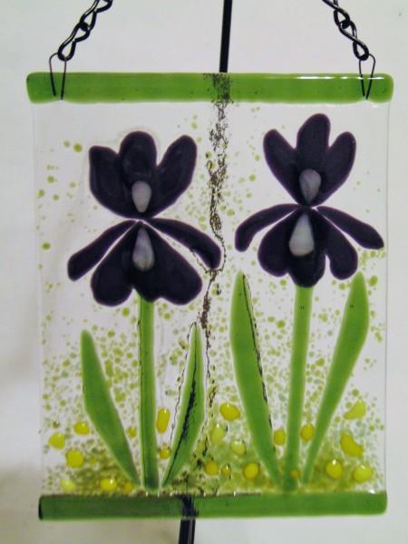 Garden Hanger-Irises