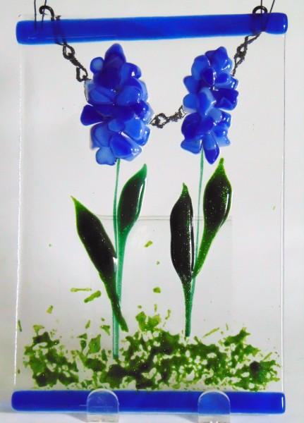 Garden Hanger-Double Delphiniums
