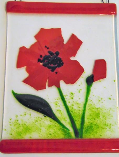 Garden Hanger-Red Poppy