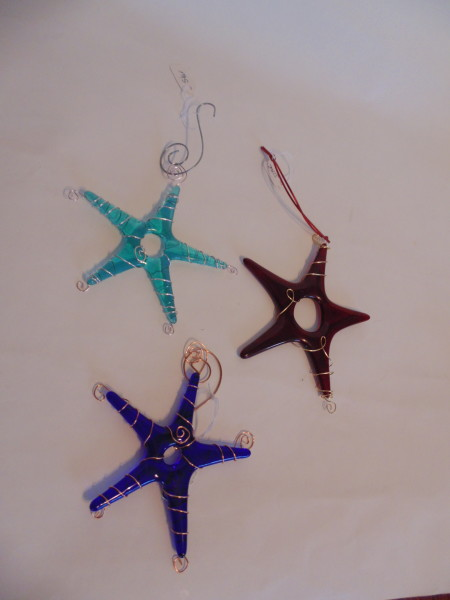 Star Ornaments-Wire Wrapped
