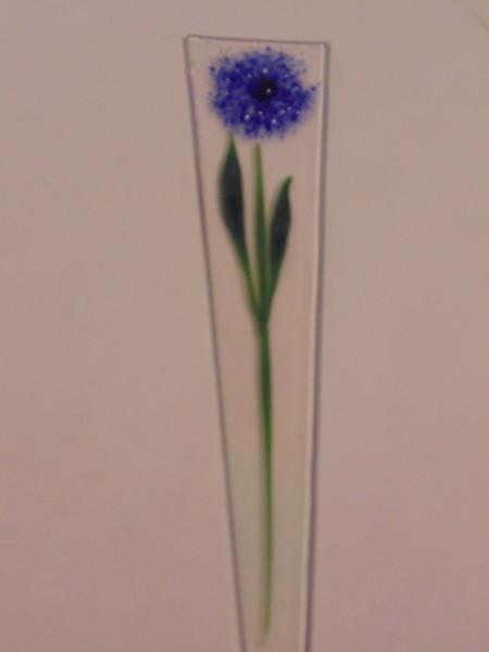 Plant Stake-Blue Dahlia