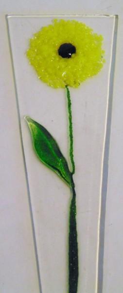 Plant Stake-Yellow Dahlia