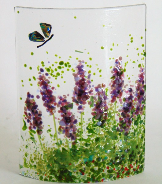 Small Curve-Lavender with Dichroic Butterfly
