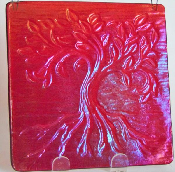 Garden Hanger, Tree of Life, Small-Red Irid