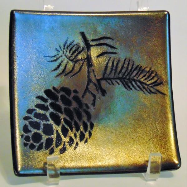 Pine Cone Plate