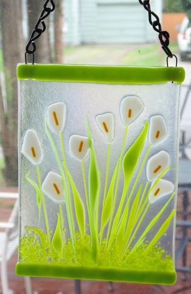 Garden Hanger-Calla Lillies