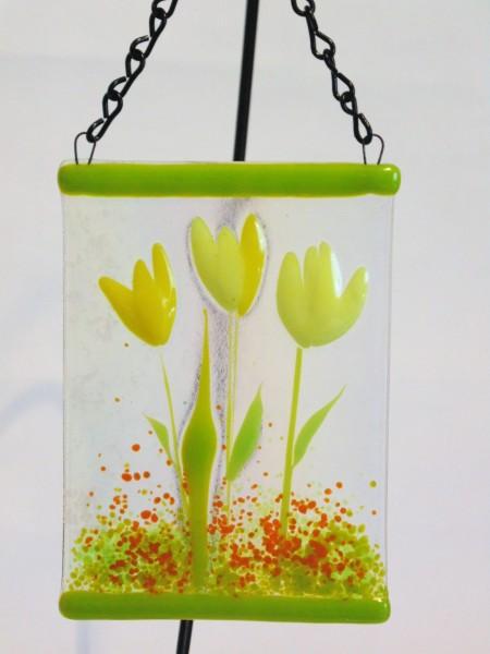 Garden Hanger-Yellow Tulips
