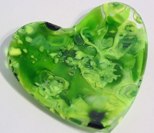 Heart Dish-Greens