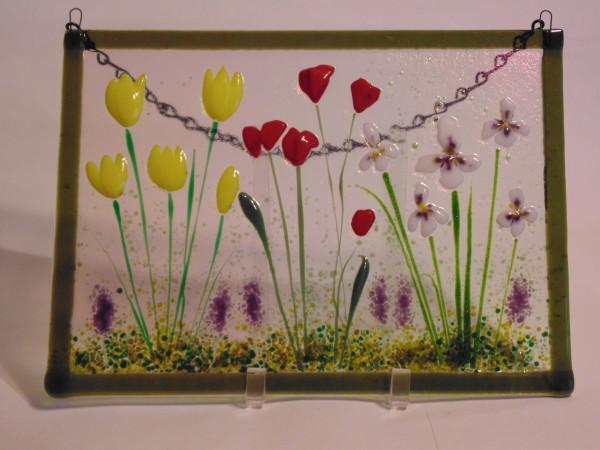 Garden Hanger-Spring Garden Scene