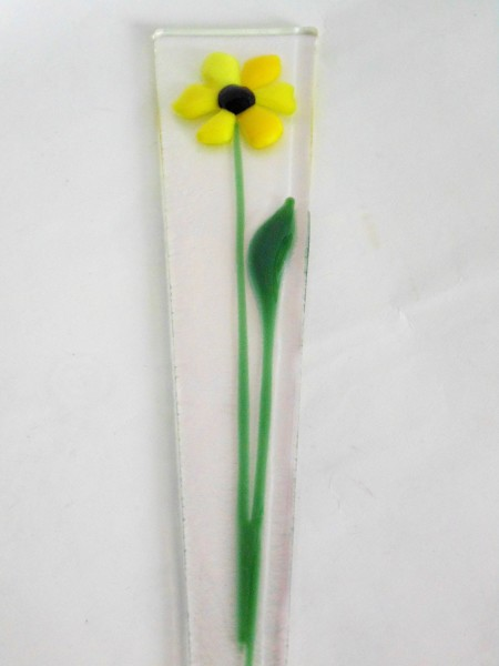 Plant Stake-Yellow Daisy