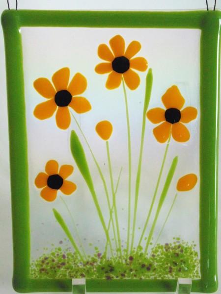 Garden Hanger-Yellow Daisies