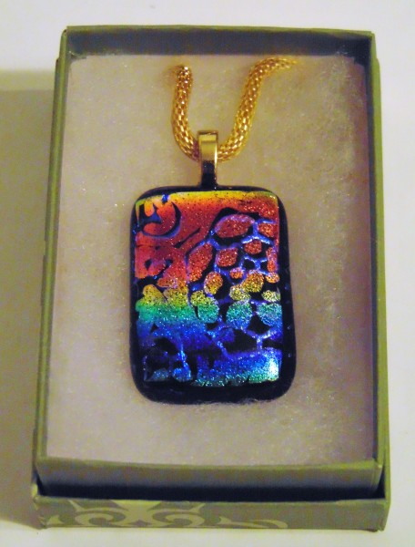Necklace-Etched Dichroic