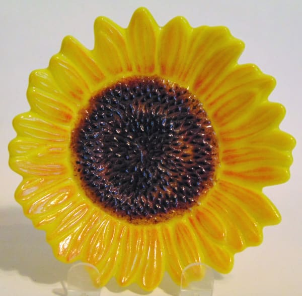 Sunflower Dish--Yellow