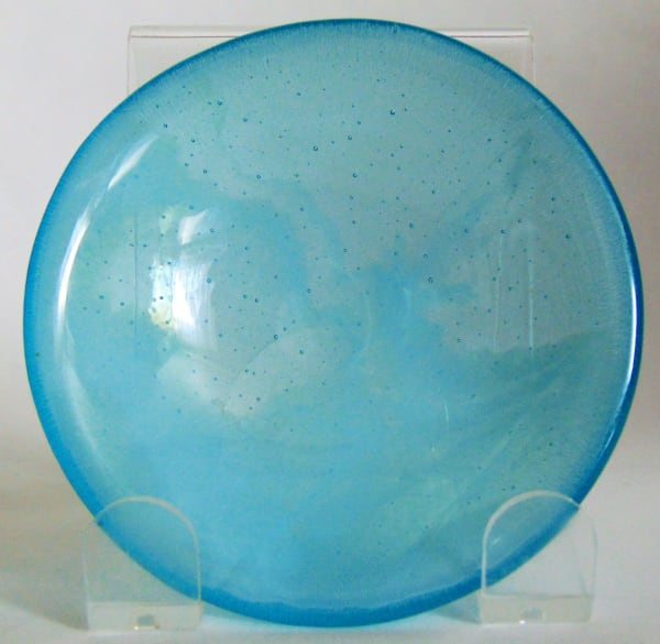Small Bowl-Turquoise with White Streaky