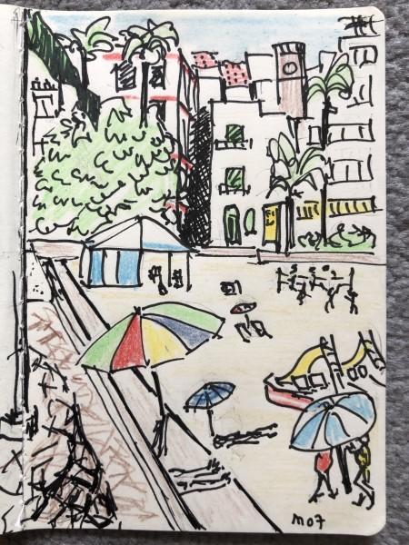 Casa del Mar - Beach Umbrellas