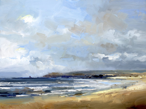 Breezy Day Constantine Bay. Cornwall