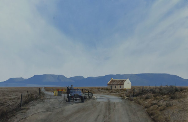 Karoo Cattle Gate And cart