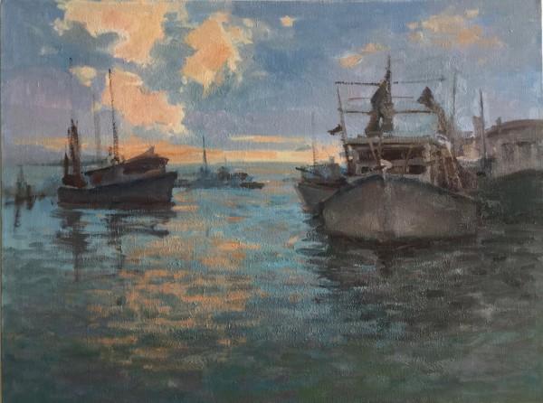 Shrimp Boats at Chalmette