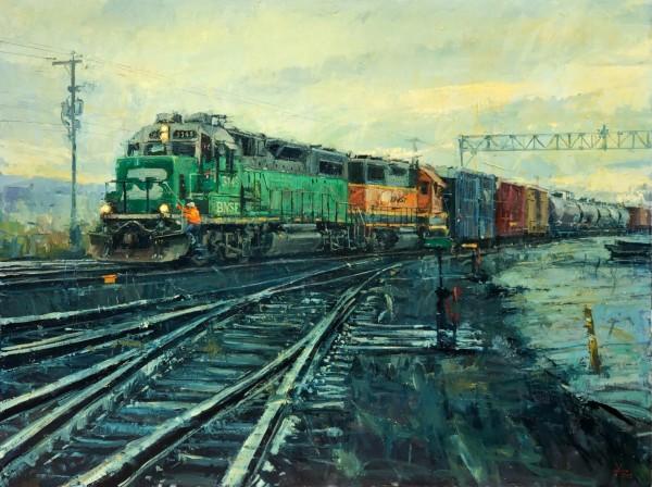 Green Engine BNSF Series 002