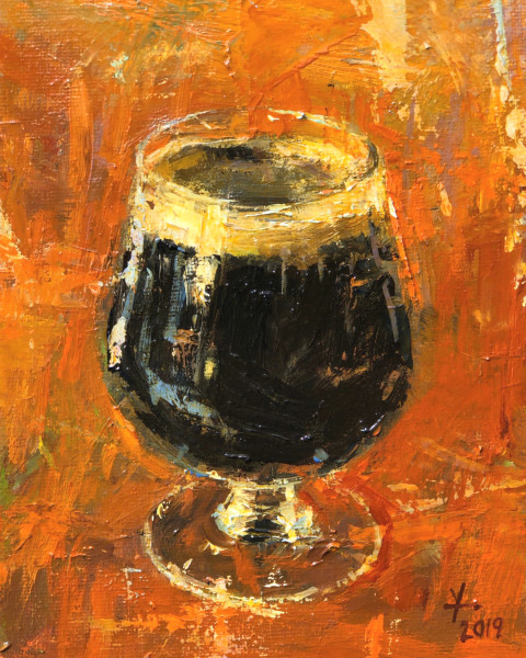 Stout in Snifter