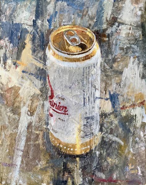 Rainier Beer Can