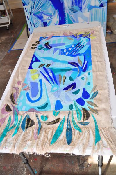 Garden Map-Tapestry 3