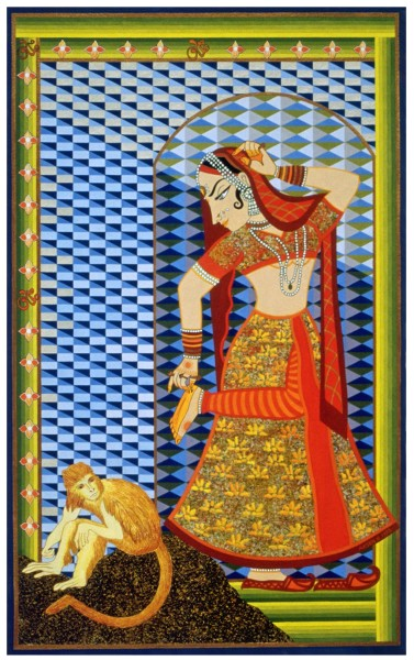 Indian Dancer (Giclee Print)