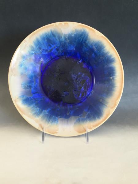 Blue Crystalline Plate