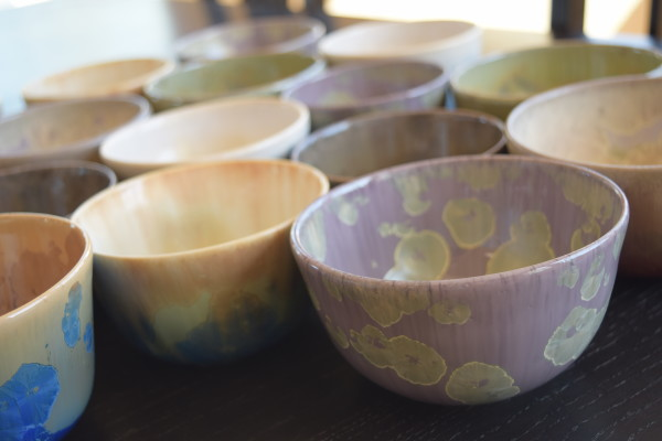 Japanese Tea Cups Assorted Colors