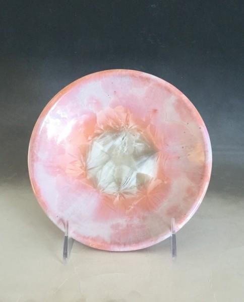 Small Orange Plate