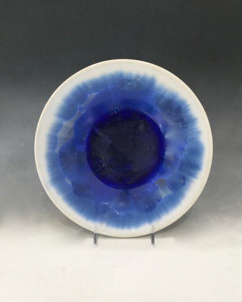 Medium Blue w/white Plate
