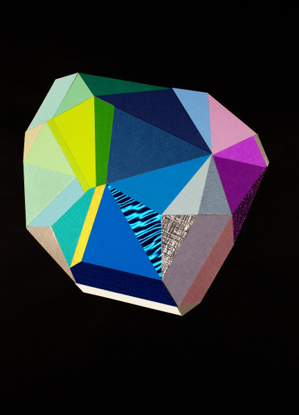 Black Color Crystal #11
