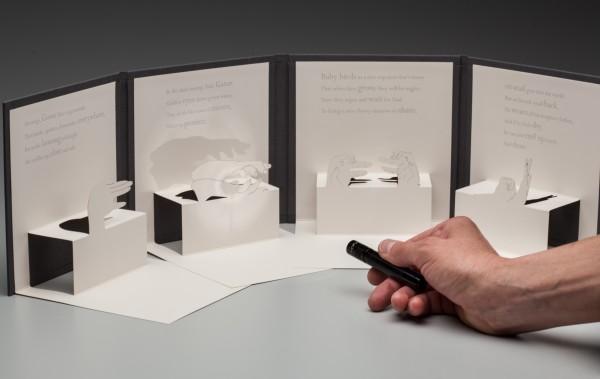 Pop-Up Hand Shadow Book