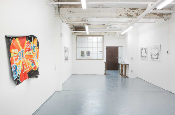 "Installation View - Carris Adams, ""Double Talk"""