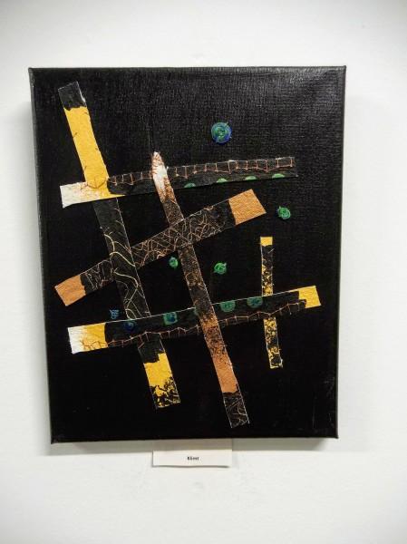 Mended Art Discards: Klimt