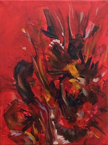 Bouquet in Scarlet