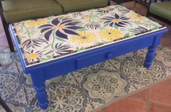 Blue Flower (table)