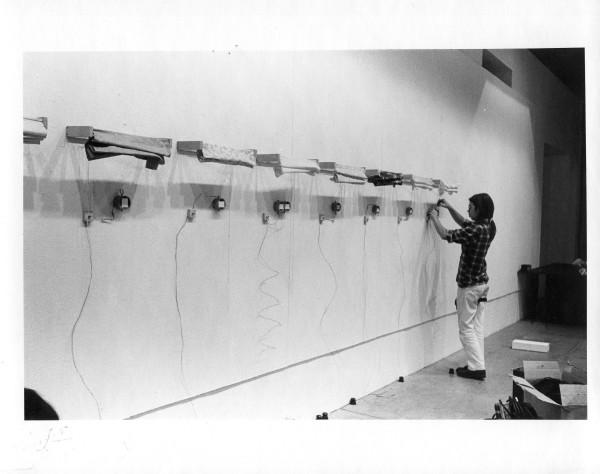 Dennis stereo viewer piece, Everson Museum of Art , 1975