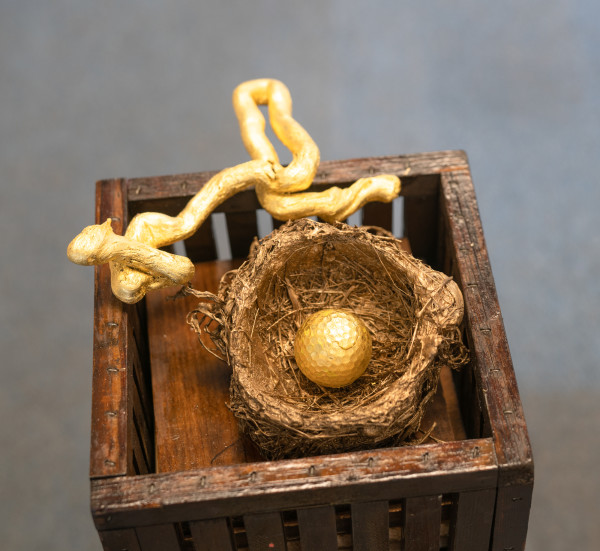 Eagle and a Golden Egg