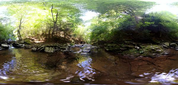 Downstream Patterkil Falls