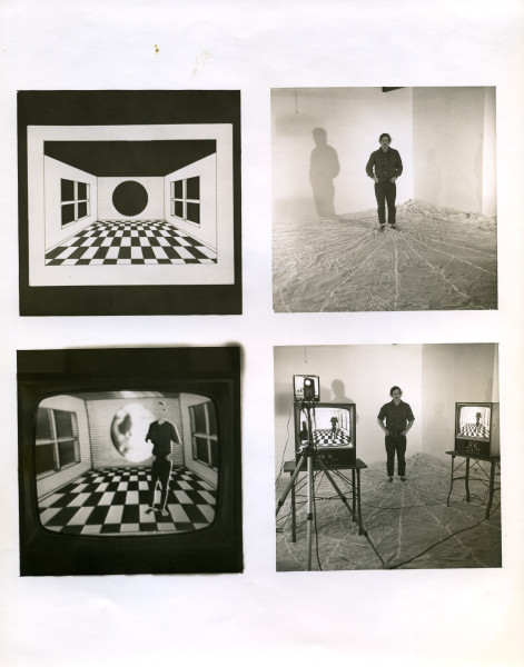 Composite for video room Everson Museum of Art 1975
