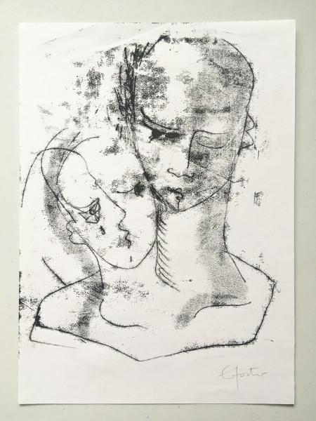 Untitled (head series 4)