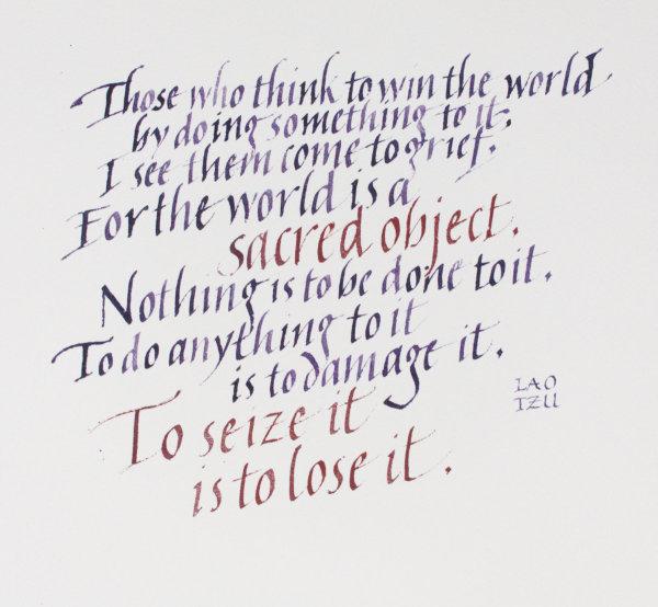The World is Sacred I