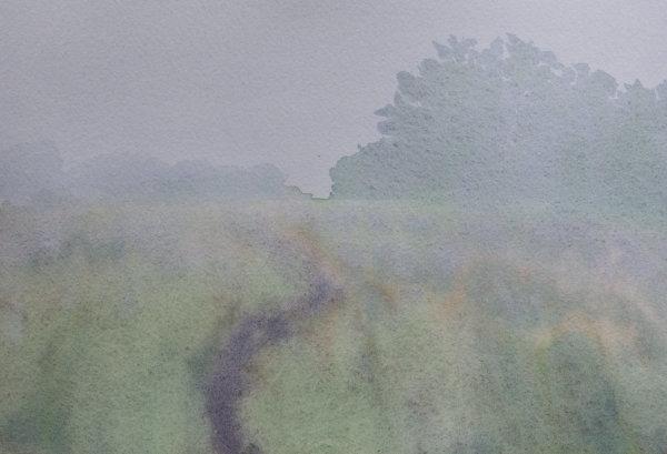 Amethyst Landscape