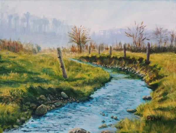 Field Stream. Gap, Pennsylvania.