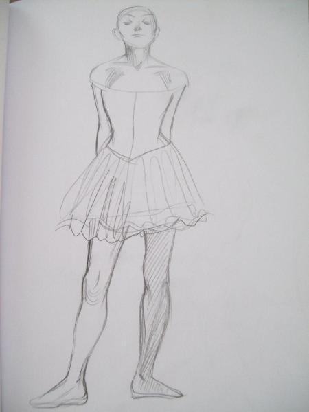 The Little Ballerina by Dega at the SLAM
