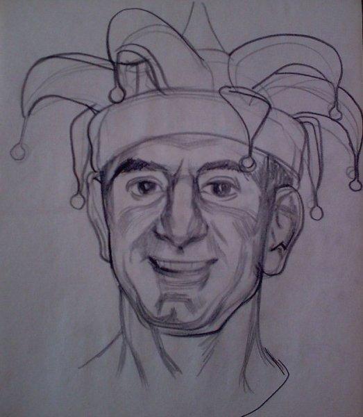 Vasko as a clown
